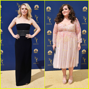 Kate McKinnon & Aidy Bryant Hit the Red Carpet at Emmy Awards 2018!