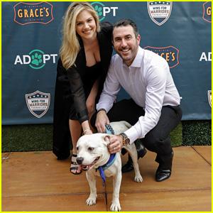 Kate Upton & Justin Verlander Host Grand Slam Adoption Event in Houston!
