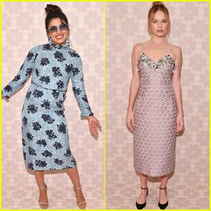 Priyanka Chopra & Kate Bosworth Look Chic at Kate Spade NYFW Show 2018!