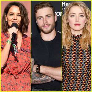 Katie Holmes Joins Gus Kenworthy & Amber Heard at Global Citizen Festival 2018!