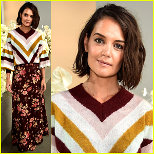 Katie Holmes Sits Front Row at Zimmerman Fashion Show