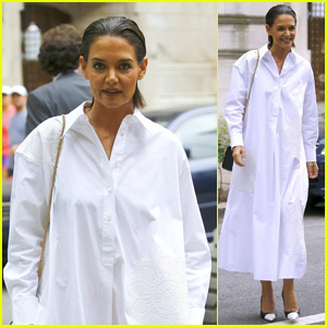 Katie Holmes Steps Out Looking Tan During New York Fashion Week 2018!