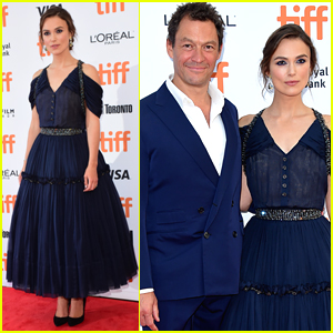 Keira Knightley Stuns in Royal Blue at 'Colette' Premiere at TIFF 2018