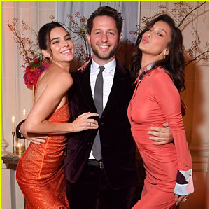 Kendall Jenner & Bella Hadid Strike a Pose at YouTube Cocktail Party in Paris