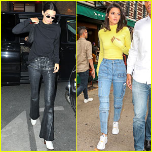 Kendall Jenner Arrives in Paris During New York Fashion Week