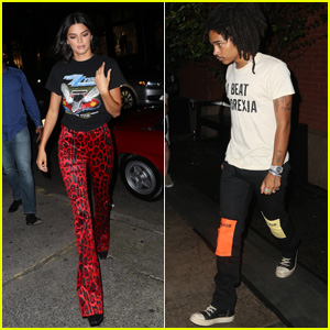 Kendall Jenner & Luka Sabbat Head Out for First Night of Fashion Week 2018 in NYC!