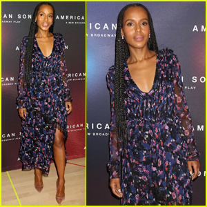 Kerry Washington Gets Ready For 'American Son's Broadway Debut!
