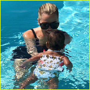 Khloe Kardashian Opens Up About Baby True's First Swimming Lessons - 'She Loves the Water!'