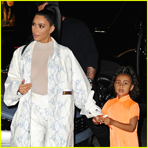 Kim Kardashian & Daughter North Step Out for Dinner in NYC!