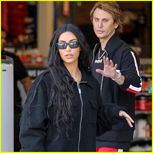 Kim Kardashian Checks Out Sporting Goods While Filming 'KUWTK'