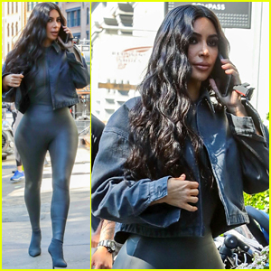Kim Kardashian Shows Off Her Fabulous Figure in New York
