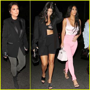 Kim & Kourtney Kardashian Live it Up at Beyonce & Jay-Z's Concert in Pasadena!