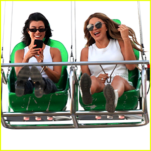 Kourtney Kardashian Takes Her Kids to Malibu Chili Cook Off!