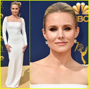 Kristen Bell Is Oh-So-Chic for Emmy Awards 2018!