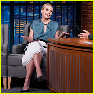 Kristen Bell Reads Trump's Tweets in Her 'Gossip Girl' Voice on 'Late Night' - Watch Here!