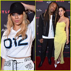 Dinah Jane Joins Lauren Jauregui & Ty Dolla $ign at Nylon's Rebel Fashion Party