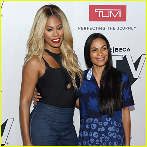 Laverne Cox & Rosario Dawson Take Part in a Tribeca Talks Discussion