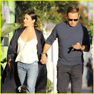 Lea Michele & Fiance Zandy Reich Hold Hands on a Date in Santa Monica!