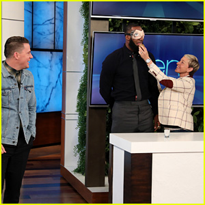 LeBron James & Channing Tatum Do Ridiculous Dares on 'Ellen' - Watch Now!