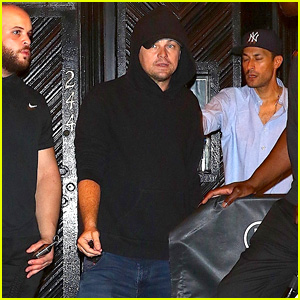 Leonardo DiCaprio Heads Out After Partying in New York City