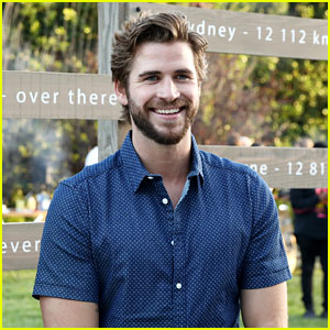 Liam Hemsworth is All Smiles at W Brisbane's Australian-Themed Party in LA!