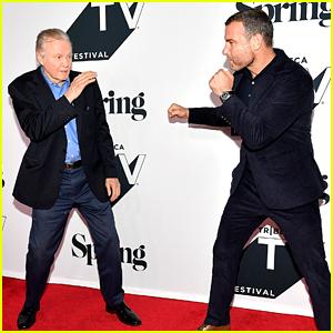 Liev Schreiber & Jon Voight Attend 'Ray Donovan' Season 6 Premiere in NYC!