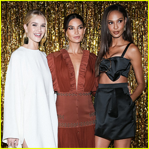 Pregnant Lily Aldridge Hosts Jimmy Choo Dinner During NYFW