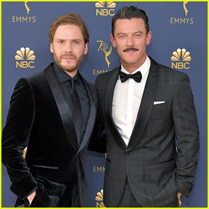 The Alienist's Daniel Bruhl & Luke Evans Buddy Up at Emmy Awards 2018!