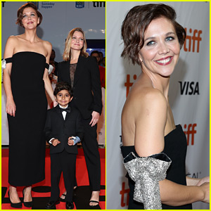 Maggie Gyllenhaal Attends TIFF Premiere with Pint-Sized Co-Star!