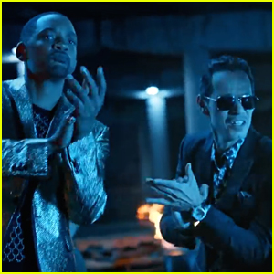 Marc Anthony, Will Smith, & Bad Bunny Team Up for 'Esta Rico' - Watch Here!