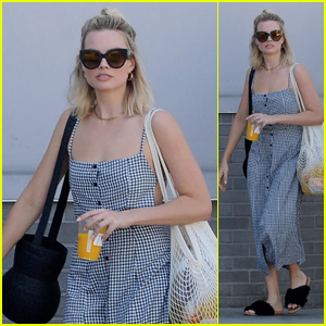 Margot Robbie Checks Out the Farmers Market With Her Brother in LA!