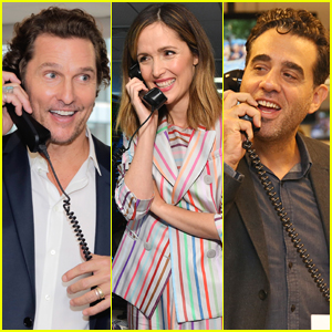 Matthew McConaughey, Rose Byrne, & Bobby Cannavale Step Out for Cantor Fitzgerald's Charity Day 2018!
