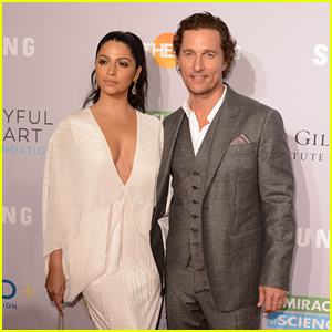 Matthew McConaughey Couples Up with Wife Camila Alves at Samsung's Charity Gala