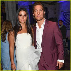 Matthew McConaughey Couples Up With Camila Alves at 'White Boy Rick' Party