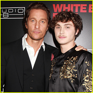 Matthew McConaughey & Richie Merritt Buddy Up for 'White Boy Rick' Premiere