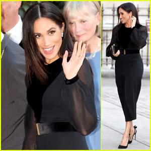 Duchess Meghan Markle Arrives for 'Oceania' Opening at the Royal Academy of Arts!