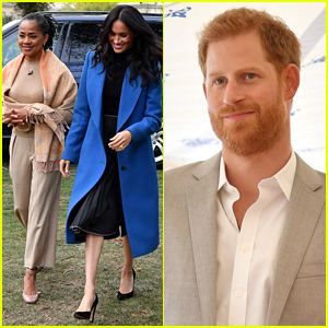 Duchess Meghan Markle Brings Her Mom Doria Ragland to Cookbook Launch