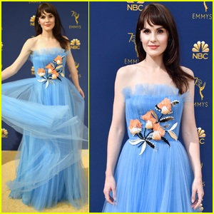 Michelle Dockery Brings 'Godless' to Emmy Awards 2018!