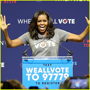 Michelle Obama Encourages Voter Registration at Florida Event