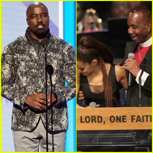 Mike Colter Apologizes for Joking About Bishop Touching Ariana Grande During Aretha Franklin's Funeral