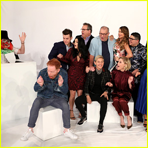 The Cast of 'Modern Family' Gets Scared on 'Ellen' - Watch Now!