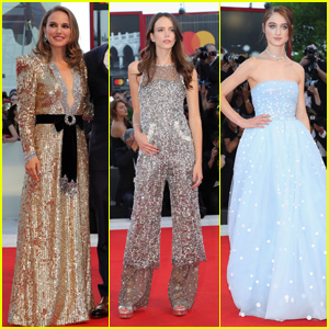 Natalie Portman, Stacy Martin & Raffey Cassidy Attend 'Vox Lux' Premiere at Venice Film Festival 2018!