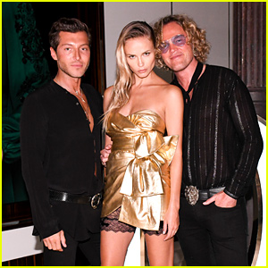 Model Natasha Poly Helps Dundas Launch NYC Flagship Store