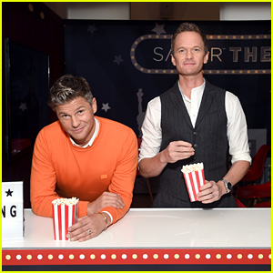Neil Patrick Harris & David Burtka Host Capital One Savor Card Launch Event in NYC!