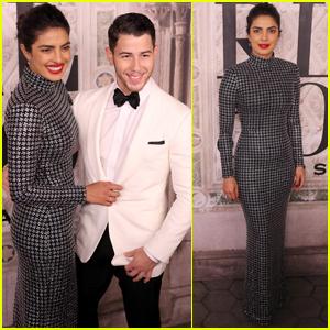 Nick Jonas & Priyanka Chopra Couple Up at 'Ralph Lauren' Show During NYFW