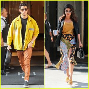 Nick Jonas & Priyanka Chopra Look Fashionable While Stepping Out in NYC!