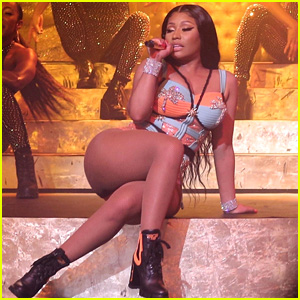 Nicki Minaj Performs For the First Time in Brazil at Tidal Concert!