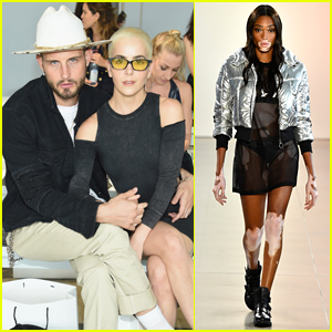 Nico Tortorella & Wife Bethany C. Meyers Couple Up at Nana Judy NYFW Show
