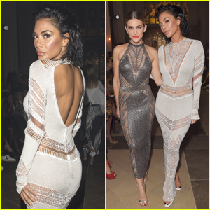 Nicole Scherzinger Reunites with Pussycat Dolls' Ashley Roberts