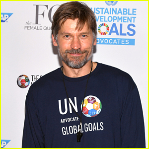 Nikolaj Coster-Waldau Steps Out for Global Goals World Cup 2018!